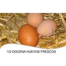 1/2 docena de huevos
